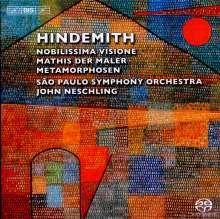 "Paul Hindemith (1895-1963): Symphonie ""Mathis der Maler"", Super Audio CD"