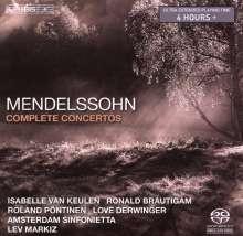 Felix Mendelssohn Bartholdy (1809-1847): Sämtliche Solokonzerte, Super Audio CD Non-Hybrid