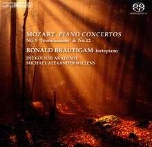 Wolfgang Amadeus Mozart (1756-1791): Klavierkonzerte Nr.9 & 12, Super Audio CD