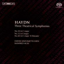 Joseph Haydn (1732-1809): Symphonien Nr.12,50,60, Super Audio CD