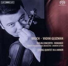 Max Bruch (1838-1920): Violinkonzert Nr.1, Super Audio CD