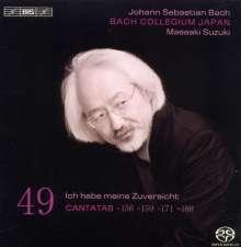 Johann Sebastian Bach (1685-1750): Kantaten Vol.49 (BIS-Edition), Super Audio CD