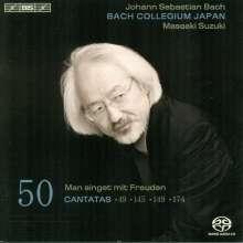Johann Sebastian Bach (1685-1750): Kantaten Vol.50 (BIS-Edition), Super Audio CD