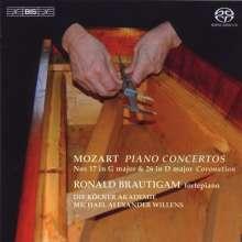 Wolfgang Amadeus Mozart (1756-1791): Klavierkonzerte Nr.17 & 26, Super Audio CD