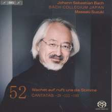 Johann Sebastian Bach (1685-1750): Kantaten Vol.52 (BIS-Edition), Super Audio CD
