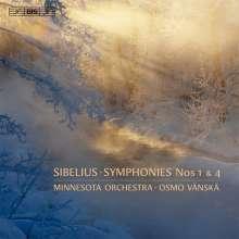 Jean Sibelius (1865-1957): Symphonien Nr.1 & 4, Super Audio CD