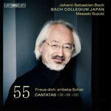 Johann Sebastian Bach (1685-1750): Kantaten Vol.55 (BIS-Edition), Super Audio CD