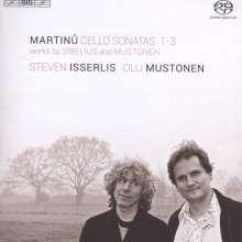 Bohuslav Martinu (1890-1959): Sonaten für Cello & Klavier Nr.1-3, Super Audio CD