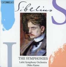 Jean Sibelius (1865-1957): Symphonien Nr.1-7, 3 Super Audio CDs