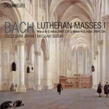 Johann Sebastian Bach (1685-1750): Lutherische Messen Vol.1, Super Audio CD
