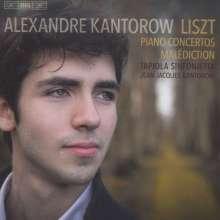 Franz Liszt (1811-1886): Klavierkonzerte Nr.1 & 2, Super Audio CD