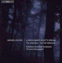 Felix Mendelssohn Bartholdy (1809-1847): Ein Sommernachtstraum, Super Audio CD
