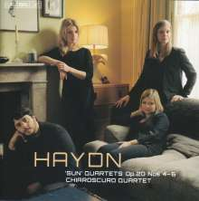 Joseph Haydn (1732-1809): Streichquartette Nr.34-36 (op.20 Nr.4-6), Super Audio CD