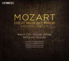 "Wolfgang Amadeus Mozart (1756-1791): Messe KV 427 c-moll ""Große Messe"", Super Audio CD"