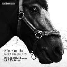 György Kurtag (geb. 1926): Kafka-Fragmente für Sopran & Violine, Super Audio CD