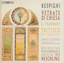 Ottorino Respighi (1879-1936): Trittico Botticelliano, Super Audio CD