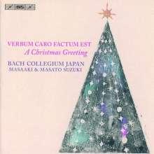 Bach Collegium Japan Chorus - Verbum Caro Factum Est, Super Audio CD