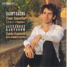Camille Saint-Saens (1835-1921): Klavierkonzerte Nr.3-5, Super Audio CD
