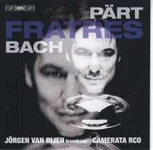 Arvo Pärt (geb. 1935): Fratres für Posaune, Percussion & Streichorchester, Super Audio CD