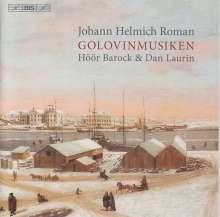 Johan Helmich Roman (1694-1758): Golovin-Musik (45 Sätze), Super Audio CD