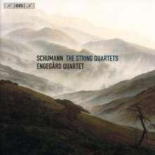 Robert Schumann (1810-1856): Streichquartette Nr.1-3, Super Audio CD