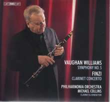 Ralph Vaughan Williams (1872-1958): Symphonie Nr.5, Super Audio CD