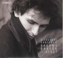 Alexandre Kantorow - Brahms / Bartok / Liszt, Super Audio CD