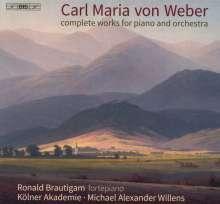 Carl Maria von Weber (1786-1826): Klavierkonzerte Nr.1 & 2, Super Audio CD