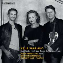 Kaija Saariaho (geb. 1952): Graal Theatre für Violine & Orchester, Super Audio CD