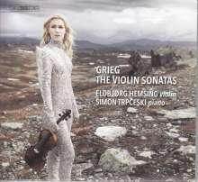 Edvard Grieg (1843-1907): Sonaten für Violine & Klavier Nr.1-3, Super Audio CD