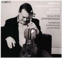 Bohuslav Martinu (1890-1959): Violinkonzerte Nr.1 & 2, Super Audio CD