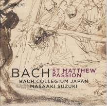 Johann Sebastian Bach (1685-1750): Matthäus-Passion BWV 244, 2 Super Audio CDs
