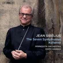 Jean Sibelius (1865-1957): Symphonien Nr.1-7, 4 Super Audio CDs