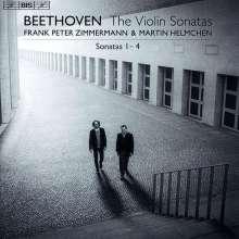 Ludwig van Beethoven (1770-1827): Violinsonaten Nr.1-4, Super Audio CD