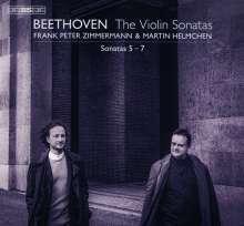 Ludwig van Beethoven (1770-1827): Violinsonaten Nr.5-7, Super Audio CD