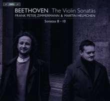 Ludwig van Beethoven (1770-1827): Violinsonaten Nr.8-10, Super Audio CD