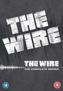 The Wire Season 1-5 (Complete Series) (UK Import), 24 DVDs