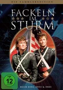 Fackeln im Sturm Buch 1-3 (Sammleredition / Gesamtausgabe), 8 DVDs