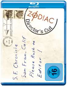 Zodiac - Spur des Killers (Director's Cut) (Blu-ray), Blu-ray Disc