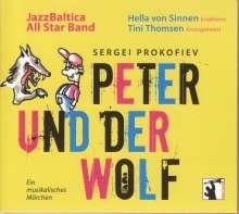 Serge Prokofieff (1891-1953): Peter und der Wolf op.67 für Jazz-Ensemble, CD