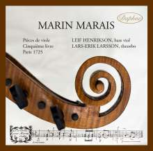 Marin Marais (1656-1728): Pieces de Viole Buch 5 (1725) (Auszüge), CD