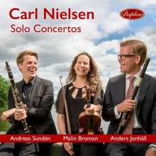 Carl Nielsen (1865-1931): Violinkonzert op.33, CD