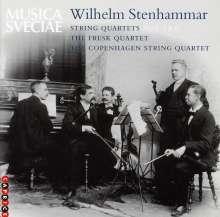 Wilhelm Stenhammar (1871-1927): Streichquartette Nr.5 & 6, CD