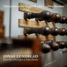Jonas Lundblad - Clavierists at the organ in 18th Centruy Sweden, CD