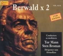 Franz Berwald (1796-1868): Symphonien serieuse & singuliere, 2 CDs