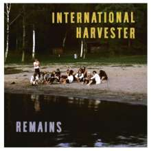 International Harvester: Remains (remastered) (Limited-Edition-Box), 5 LPs