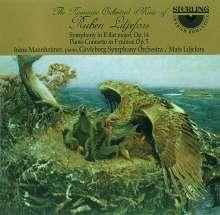 Ruben Liljefors (1871-1936): Symphonie op.14, CD