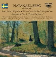 "Natanael Berg (1879-1957): Symphonie Nr.4 ""Pezzo sinfonico"", CD"