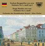 Norbert Burgmüller (1810-1836): Symphonie Nr.1 c-moll op.2, CD