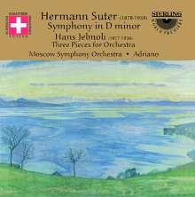 Hermann Suter (1870-1926): Symphonie in d op.17, CD